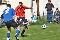 Derby v Radostíně nezaujatým divákům mnoho radosti neudělalo. Křižanov nebodoval a cena jeho akcií ve fotbalové I. B třídě znovu klesla.