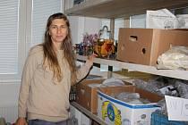 """Sbírkové předměty Horáckého muzea jsou uloženy na několika místech. """"Je to provizorní řešení, čekáme na dostavbu depozitáře v podkroví muzea. Ale ani ta situaci nevyřeší,"""" říká kurátorka sbírek Alice Hradilová (na snímku)."""