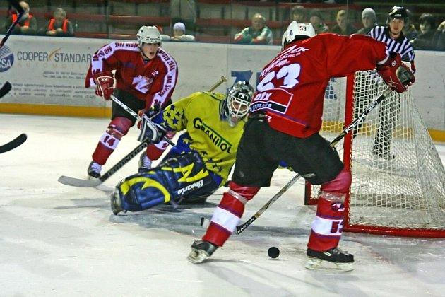 Ze zápasu Žďáru proti Šternberku...
