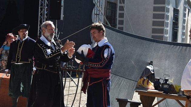 Do Velkého Meziříčí přijel Albrecht z Valdštejna