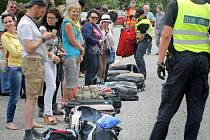 Kontrolní akce, při níž policisté spolupracovali s celníky, začala v úterý 7. července na parkovišti u Velkého Meziříčí na na 139. kilometru dálnice D1 ve směru na Prahu.