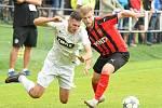Divizní fotbalisté Žďáru nad Sázavou (v bílém) už se pomalu začínají připravovat na nadcházející sezonu ve čtvrté nejvyšší soutěži.