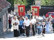 Pouť v Netíně má dlouholetou tradici.