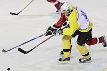 Hokejisté Bobrůvky nestačili na Vojnův Městec, který si ve druhé třetině vypracoval jednogólový náskok.