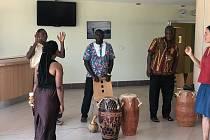 Setkání s Afrikou v novoměstské nemocnici.