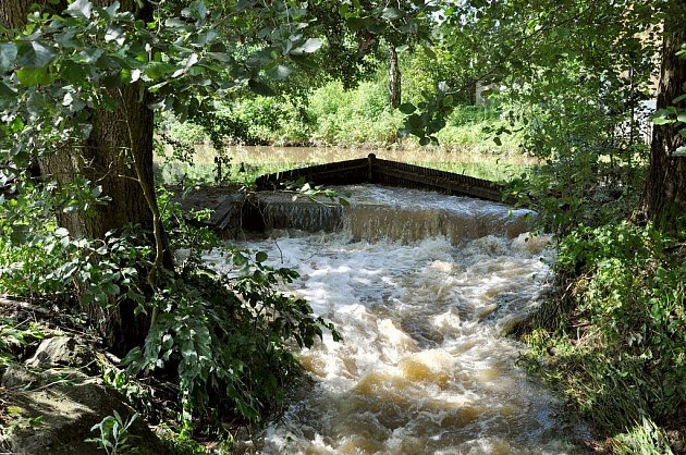 Za záplav na Bobrovsku...