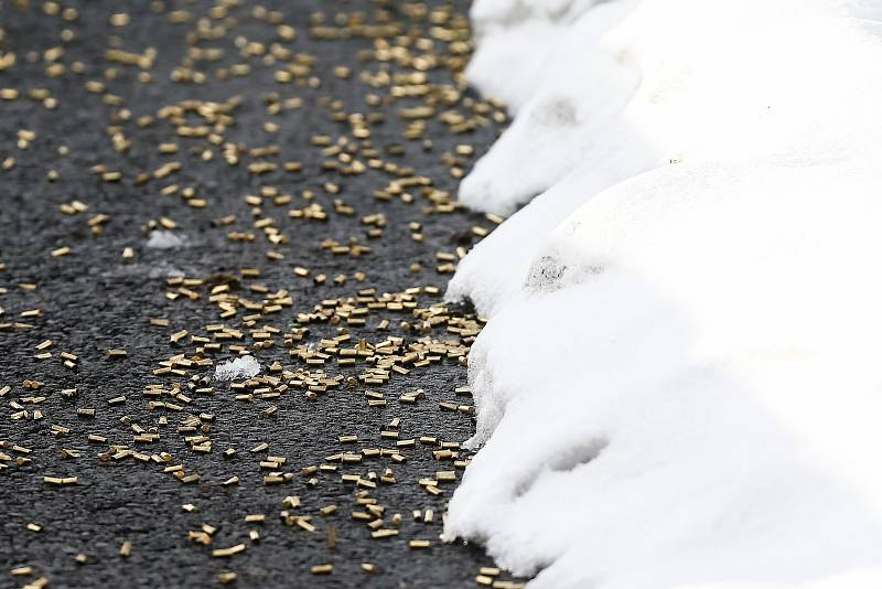 Závod Světového poháru v biatlonu - štafeta 4 x 7,5 km mužů.