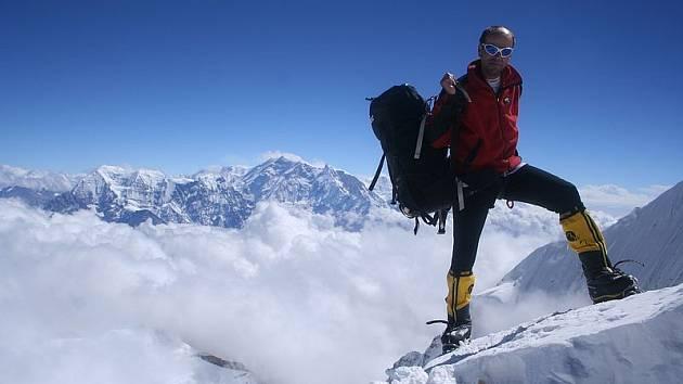 Horolezec Radek Jaroš zdolal už sedm osmitisícovek. Chce jich zlézt všech čtrnáct.