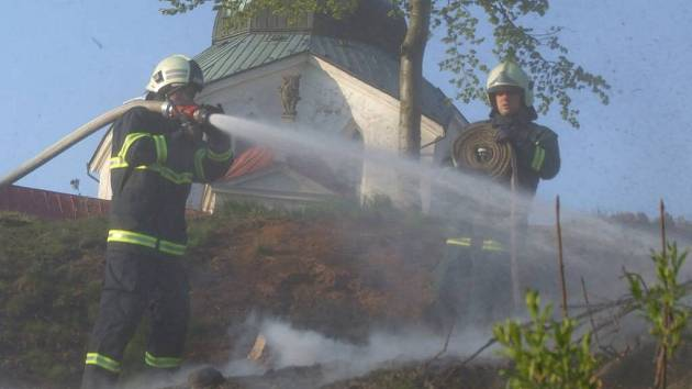 Hasiči s ohněm bojovali několik hodin.