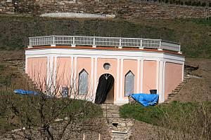 Dnešní podoba Pernštejnských zahrad. Do parády si je vzali odborníci.