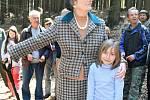 Před deseti lety se oslav u Stříbrné studánku zúčastnila i hraběnka Tamara Kinská.