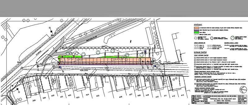 Pod Zelenou horou má vzniknout nové parkoviště.