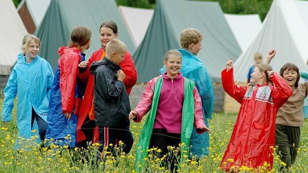 O letní tábory je mezi dětmi stále zájem. Některé turnusy jsou už zcela naplněny.