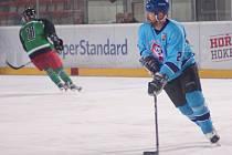 Hokejisté Rudolce (na snímku) podlehli v prvním čtvrtfinále favorizovanému Bohdalci 3:5. K lepšímu výsledku nepomohl ani zlepšený výkon ve třetí třetině.