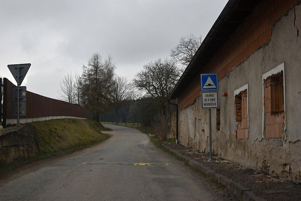 Obec Rosička na Žďársku.