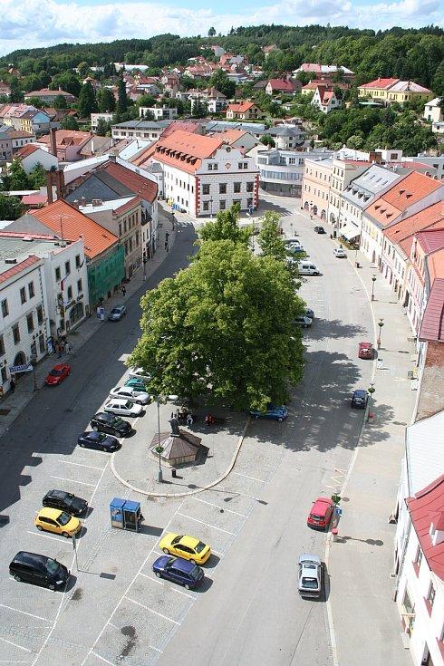 Velkomeziříčští plánují opravu centra města už dlouhodobě.