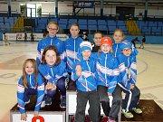 Klub Short tracku TJ Žďár nad Sázavou sbírá v dětských kategoriích jeden úspěch za druhým.