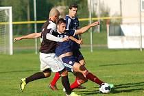 Zápas Pelhřimova s Vrchovinou přinesl pouze jediný gól, který padl z pokutového kopu.