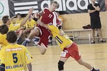 Za účasti bundesligové akademie Grosswallstadtu a juniorů Dukly Praha se v Novém Veselí odehrál házenkářský Ježek Cup.