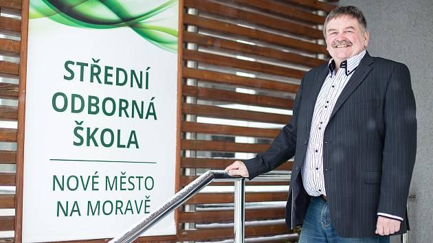 Ředitel Střední odborná školy Nové Město na Moravě Ivo Teplý.