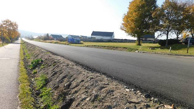 Přes půl roku trvající rekonstrukce rušné silnice se blíží do finále