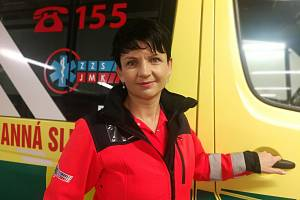 Ředitelka jihomoravské záchranky, lékařka Hana Albrechtová.