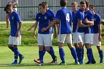 Také ve druhém přípravném zápase proti soupeři z nižší soutěže potvrdili fotbalisté Nové Vsi roli jasného favorita.