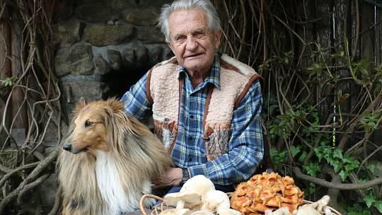 Novoměstský mykolog Oldřich Pojezný si rozšířil jídelníček.