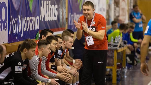 Trenér Pavel Hladík.