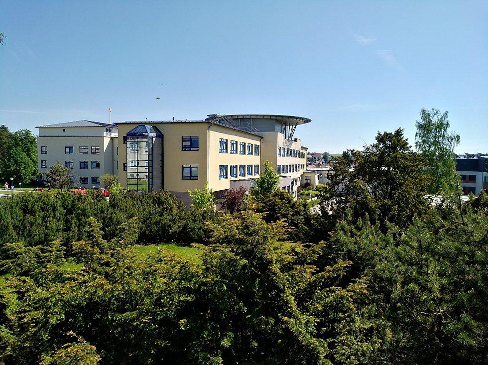 Novoměstská nemocnice dnes.