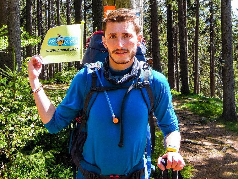 Malinský obejde Československo po bývalých hranicích. Čeká ho 4000 kilometrů