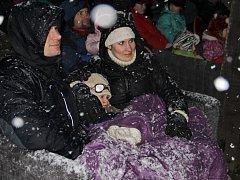 Novoměstské zimní kino.