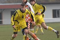 Fotbalisté Bohdalova dokázali vyhrát podruhé v řadě. Tentokrát nad Šebkovicemi.
