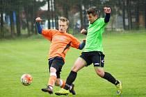 Fotbalisté Dolní Rožínky se po dvou sezonách v okresním přeboru vrátí do III. třídy. Změnit už to může jen zázračné divizní povstání týmů z Vysočiny.