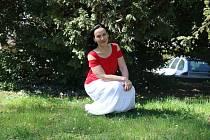 Písničkářka Jana Rychterová zavítala do Žďáru nad Sázavou. Nevynechala ani prohlídku Zelené hory.