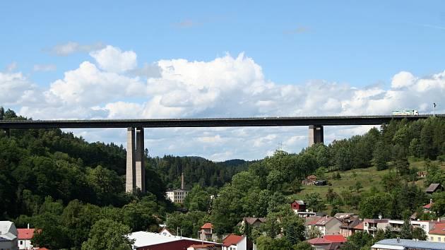 Dálniční most Vysočina.