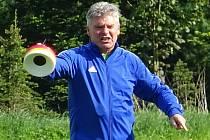 Jak je u něj zvykem, také v novém působišti je trenér Pavel Procházka velice impulsivní.