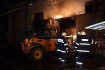 V Herálci na Žďársku hořela kotelna na dřevní odpad. Škoda dosáhla půl milionu korun.
