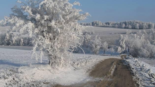 Ladovská zima na vlastní oči. Pošlete nám i vaše fotky ze zasněžené krajiny