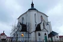 Unikátní kostel dostává svoji původní podobu.