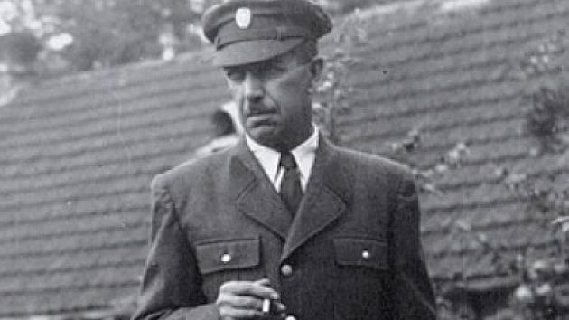 Josef Pavlas, lesní správce.