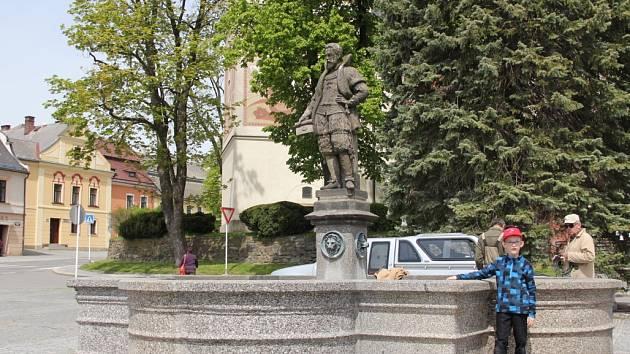 Centrum Nového Města na Moravě.