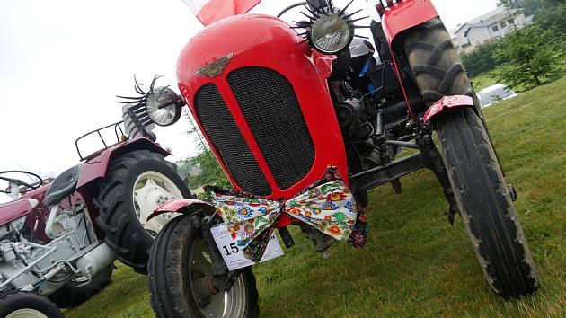 Na srazu traktorů i přes déšť padl účastnický rekord