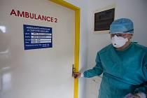 Do Nemocnice Nové Město na Moravě 26. února 2020 přišla žena s podezřením na koronavirus COVID-19.