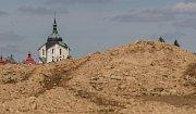 V Žďáře nad Sázavou se staví sítě pro obytné domy – parcely na Klafaru.