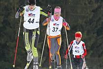 Mistrovství republiky v běhu na lyžích dorostu bylo poslední velkou kalendářní akcí v Novém Městě na Moravě.