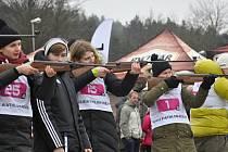 Nultý ročník originálních biatlonových závodů pro amatéry vypukne v neděli 29. ledna v Řečici.