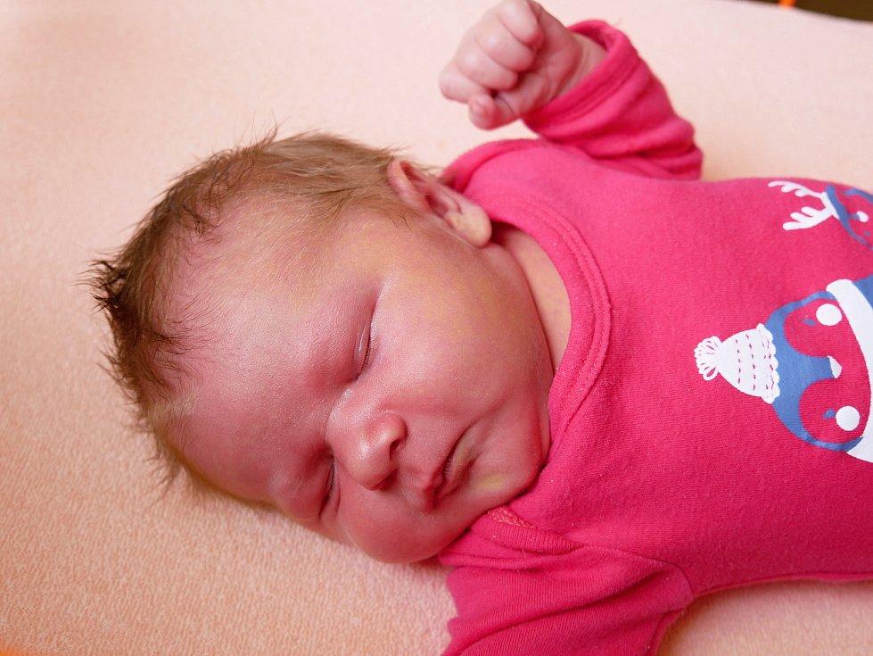 Sofie Novotná se narodila 21. prosince. Štědrý den strávila se svojí maminkou ještě v nemocnici, ale rodina je o samotě rozhodně nenechávala.
