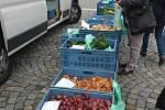 Farmářský trh ve Žďáře.