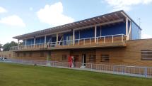 Lounský fotbalový stadion po rekonstrukci
